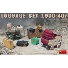 MA-35582 MINIART 35582  1/35 Luggage Set 1930-40s