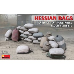 MA-35586 MINIART 35586  1/35  Hessian Bags (sand, cement, vegetables, flour, seeds etc)