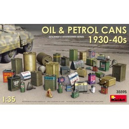 MA-35595 miniart 35595 1/35 Oil  Petrol Cans