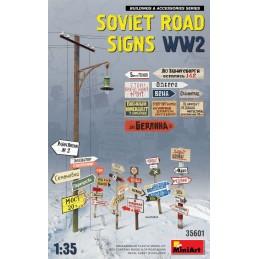 MA-35601 MINIART 35601 1/35 Soviet Road Signs WW2