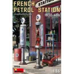 MA-35616 MiniArt 35616 1/35 French Petrol Station 1930-40s