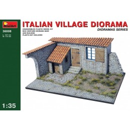 MA-36008 MiniArt 36008 1/35 Italian Village Diorama