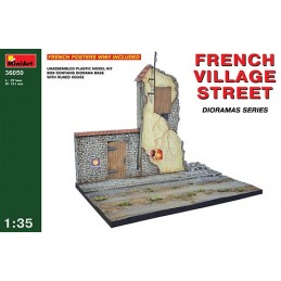 MA-36050 1/35 French Village Street