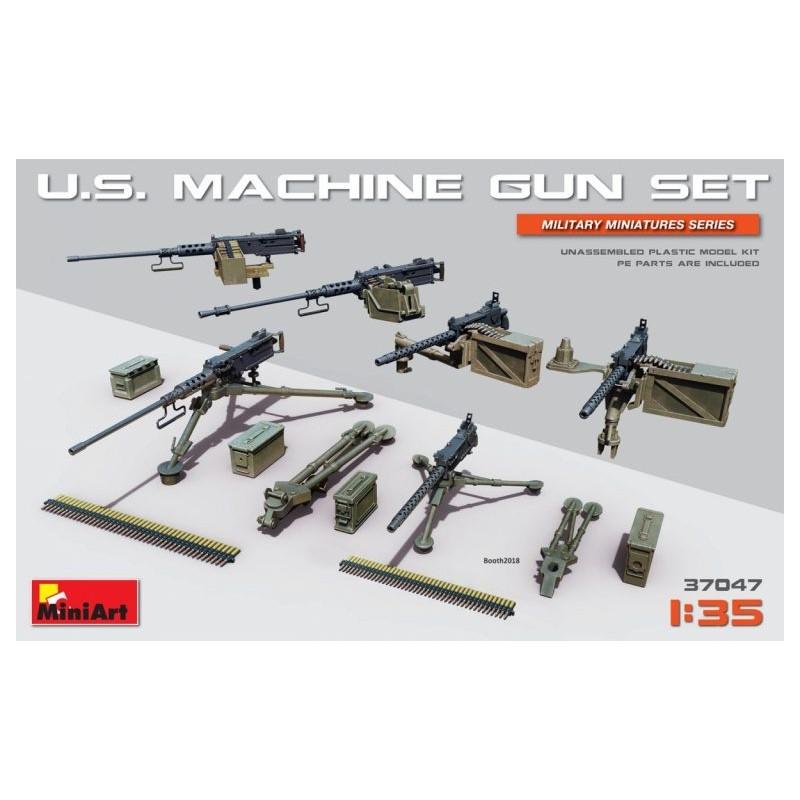 MA-37047 MINIART 37047  1/35 U.S. Machine Gun Set