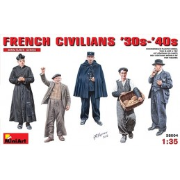 MA-38004 1/35 French Civilians 30-40th