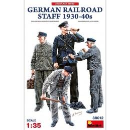 MA-38012 MiniArt 38012 1/35 German Railroad Staff 1930-40s