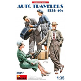 MA-38017 MiniArt 38017 1/35 Auto Travelers 1930-40s