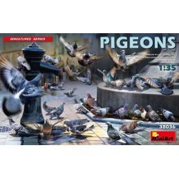 MA-38036 miniart 38036 1/35 Pigeons