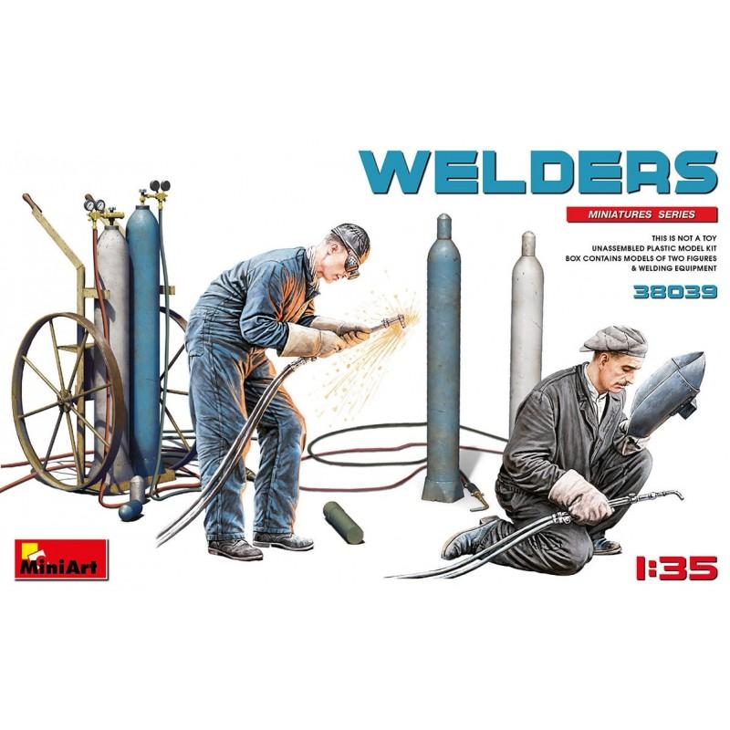 MA-38039 MiniArt 38039 1/35 Welders