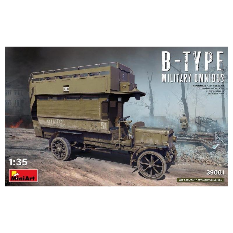 MA-39001 MiniArt 39001 1/35 B-type Military Omnibus