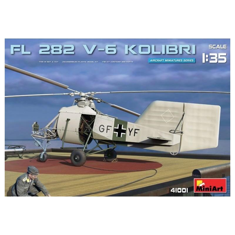 MA-41001 MINIART 41001  1/35 Fl 282 V-6 Kolibri