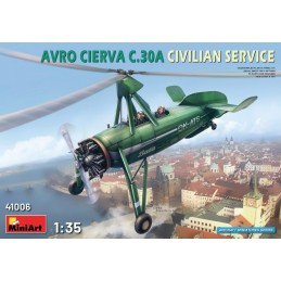 MA-41006 MINIART 41006 1/35.Avro Cierva C.30A Civilian Service