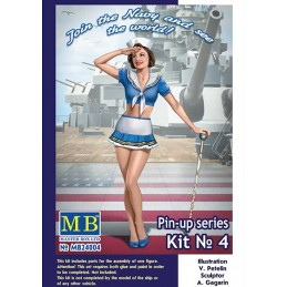 MB-24004 1/24   Master Box  Pin-up series, Kit No. 4. Suzie