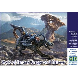 MB-24007 1/24 MASTER BOX 24007 World of Fantasy. Graggeron  Halseya