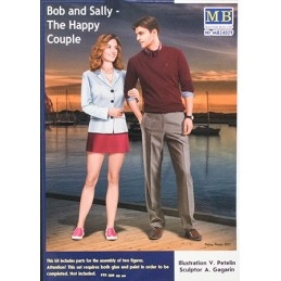 MB-24029 MASTER BOX 24029  1/24 Bob and Sally - The Happy Couple