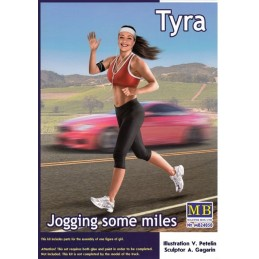 MB-24050 MASTER BOX  24050 1/24 Jogging some miles. Tyra.