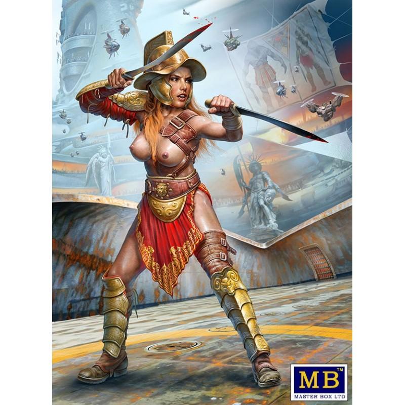 MB-24056 MASTER BOX 24056  1/24 Dimachaerus (master of two blades) Champion