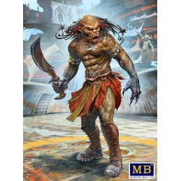 MB-24057 MASTER BOX 24057 1/24  Beastorian (any one of the many beast like races) Champion