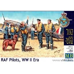 MB-3206 1/32 RAF Pilots, WW II Era
