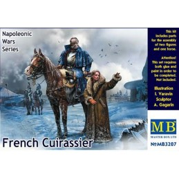 MB-3207 1/32 French Cuirassier, Napoleonic Wars Series