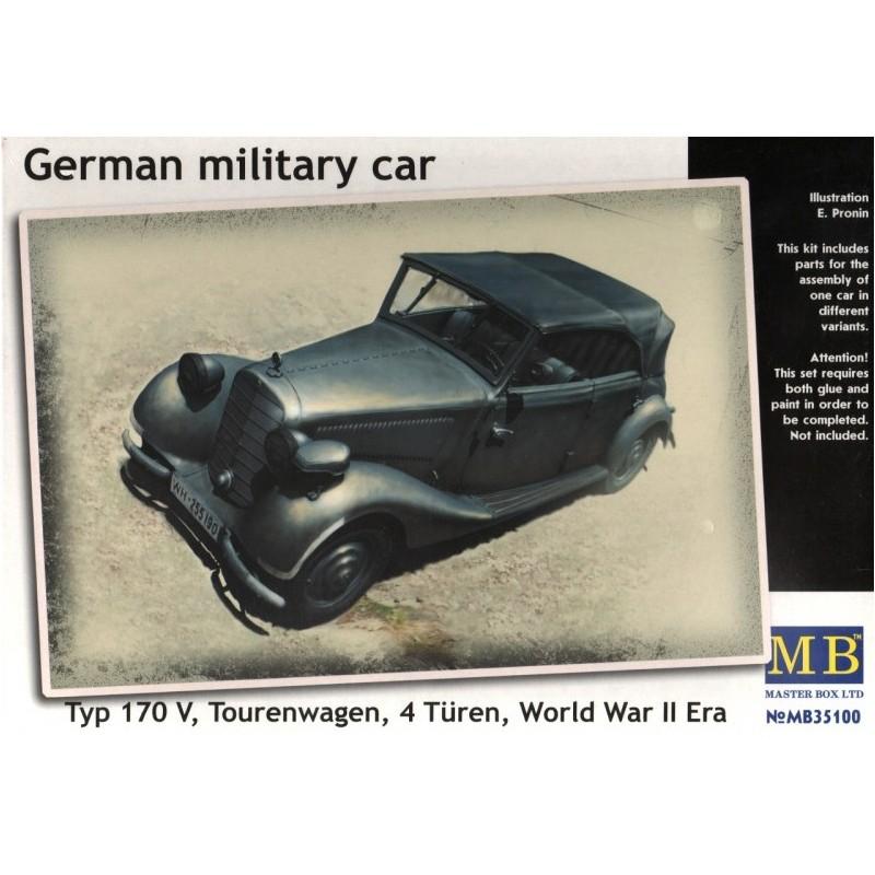 MB-35100 MASTER BOX 35100 1/35 German military car, Typ 170 V, Tourenwagen, 4 Türen, 1937-1940