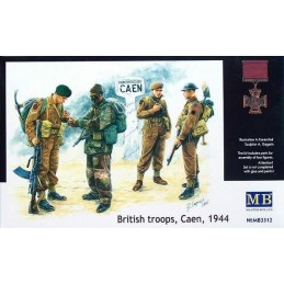MB-3512 1/35 British Troops Caen 1944