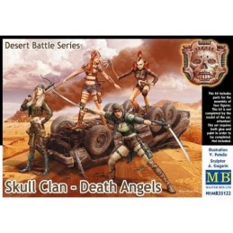 MB-35122 1/35 Desert Battle Series, Skull Clan. Death Angels