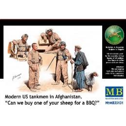 MB-35131 1/35 Modern US tankmen in Afghanistan