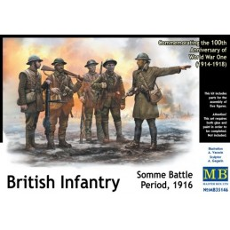 MB-35146 1/35 British Infantry, Somme Battle Period, 1916