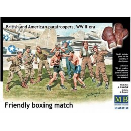MB-35150 1/35 Friendly boxing match WW II era