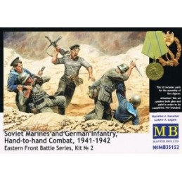 MB-35152 1/35 Soviet Marines/German Inf. Eastern Front Kit 2