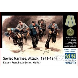 MB-35153 1/35 Soviet Marines Eastern Front Kit 3