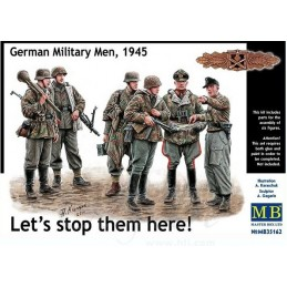 MB-35162 1/35 Lets stop them here! German Miltary Men