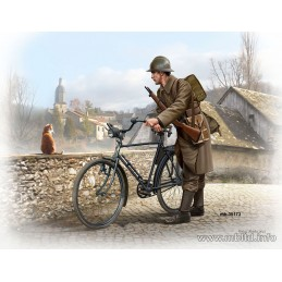 MB-35173 masterbox 35173 1/35 French soldier, WWII era