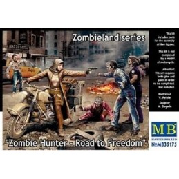 MB-35175 master box 35175 1/35 Zombie Hunter - Road to Freedom, Zombieland series