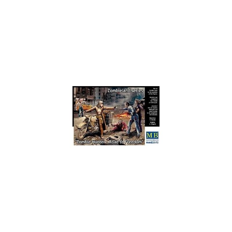 MB-35175 master box 35175 1/35 Zombie Hunter - Road to Freedom, Zombieland series