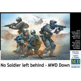 MB-35181 master box 35181 1/35 No Soldier left behind - MWD Down