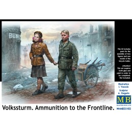 MB-35182 1/35	Volkssturm. Ammunition to the Frontline