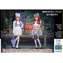 MB-35187 MASTER BOX 35187  1/35 Kawaii fashion leaders. Minami and Mai