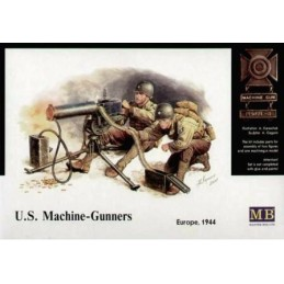 MB-3519 1/35 US Machine Gun Team