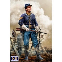 MB-35197 MASTER BOX 35197 1/35 At the Ready. Brigadier General Bufford's Union Cavalry,Company Quartermaster Sergeant, Army of