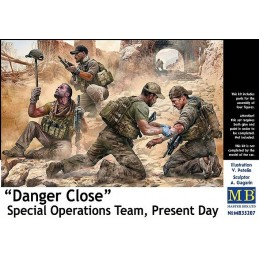 MB-35207 Master Box 35207 1/35 Danger Close - Special Operation Team, Present Day