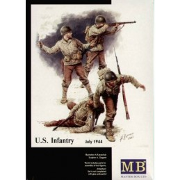 MB-3521 1/35 US Infantry 1944. D day Normandy