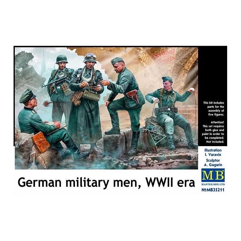 MB-35211 Master Box 35211 1/35 German military men, WWII era