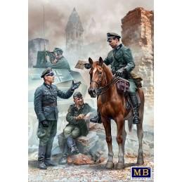 MB-35212 Urgent Dispatch. German Military Men. WW II era