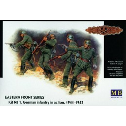 MB-3522 1/35 German Infantry in Action, 1941-42