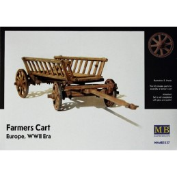 MB-3537 Master Box 3537 1/35 Farmers Cart Europe WWII