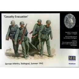 MB-3541 1/35 Casualty Evacuation. German Infantry