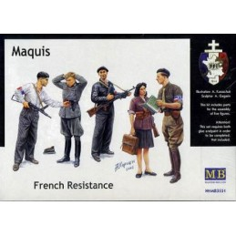 MB-3551 1/35 Maquis, French Resistance