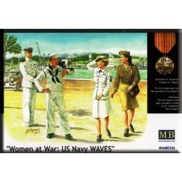 MB-3556 1/35 Women at War: US Navy WAVES